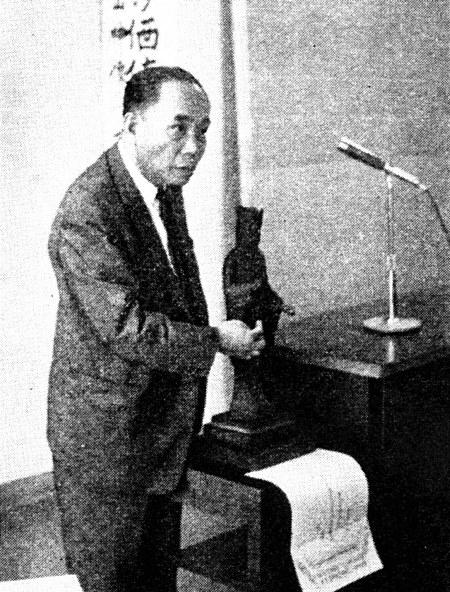 吉田実氏(当時富山県知事)