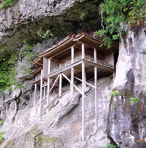 鳥取・三仏寺投入堂