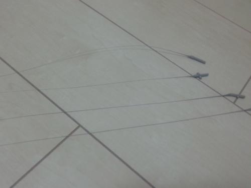 ランナー引き伸ばし線1