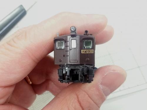 EF15 カプラー交換5