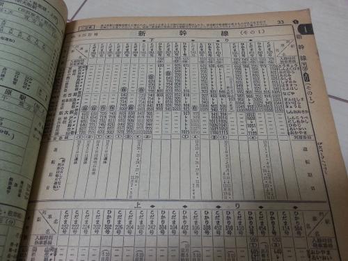 1974年10月時刻表4