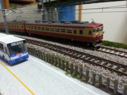 鉄道柵の完成・取付3