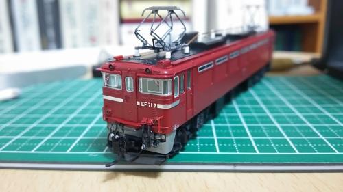 EF71カプラー交換10