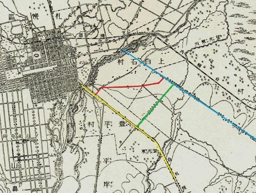 明治29年地形図