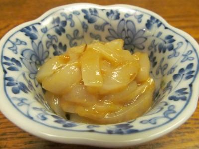 ヤリイカの柚子胡椒和え3