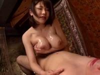 【巨乳痴女エステ】 M男専門 乳首性感 膣内デトックスコース! 沖田杏梨