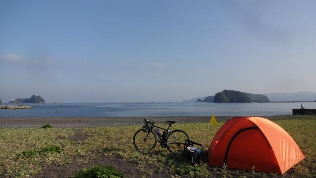 古里海岸キャンプ場