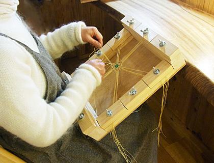 マクラメ編み台07
