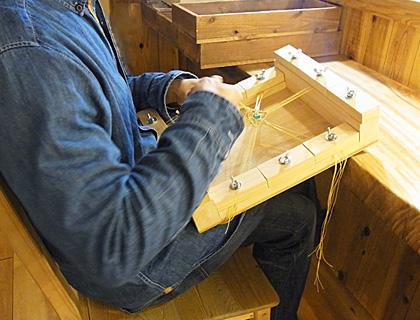 マクラメ編み台08