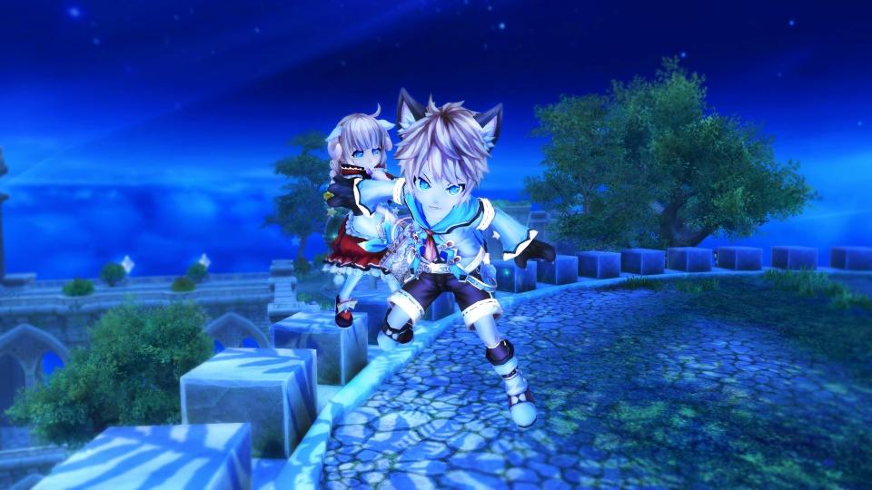 基本プレイ無料のファンタジーアニメチックファンタジーオンラインゲーム『幻想神域 –Cross to Fate-』 幻神の★3進化が7月8日に全解禁
