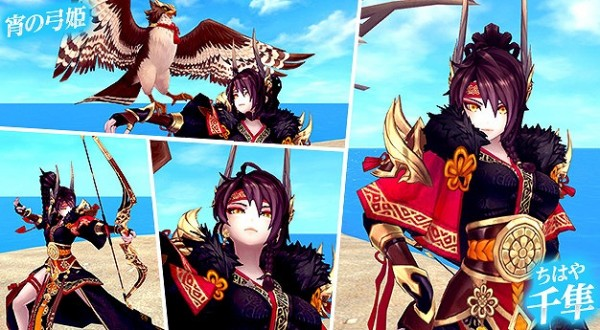 基本プレイ無料のアニメチックファンタジーMMORPG『幻想神域–Cross to Fate-』 一騎当千のクールな幻神「千隼」新登場!特殊なバフとミニペットが手にア入るイベントも開催
