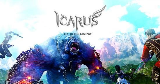 基本プレイ無料のドラゴンに乗って戦える新作ファンタジーMMORPG『イカロスオンライン』