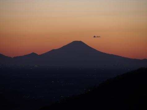 富士山【表筑波スカイライン 朝日峠より】