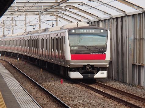 JR 京葉線 E233系5000番台 電車