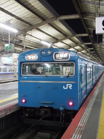 JR 阪和線 103系 電車