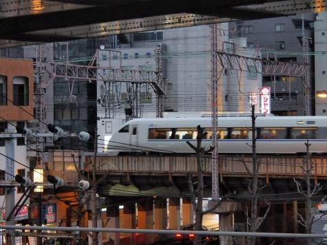 JR 大阪環状線 福島駅より