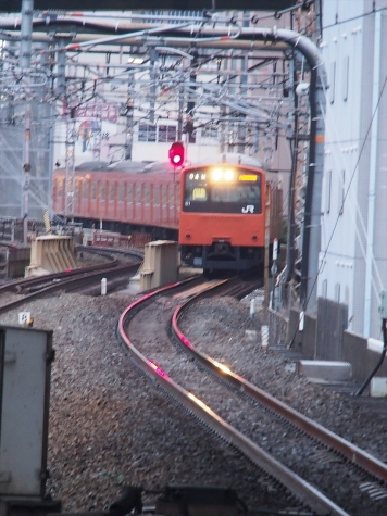 JR 大阪環状線 201系 電車