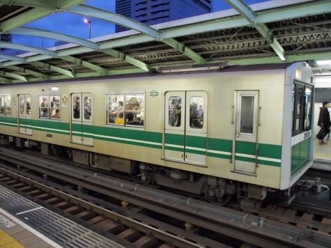 大阪市営地下鉄中央線 20系 電車