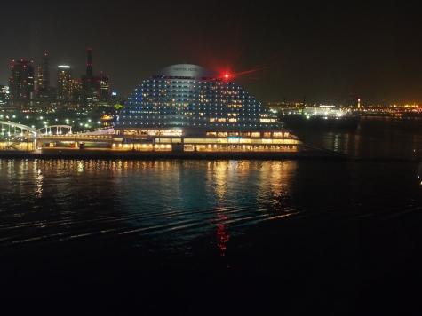 神戸メリケンパークオリエンタルホテル【モザイク観覧車より】