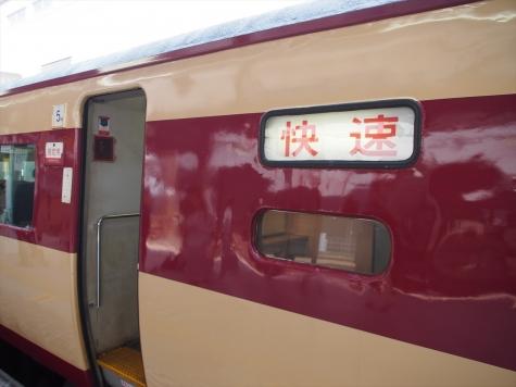 JR 485系 電車 快速 足利大藤まつり号