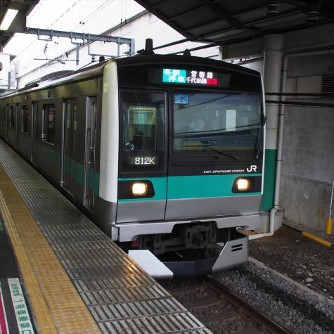 常磐緩行線 E233系2000番台 電車