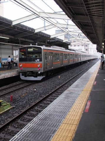 JR 武蔵野線 205系5000番台 電車