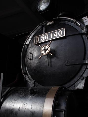 D50形140号機 蒸気機関車