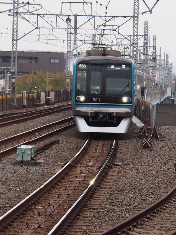 東京メトロ 東西線 15000系 電車