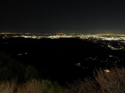 成田方向【筑波山からの夜景】