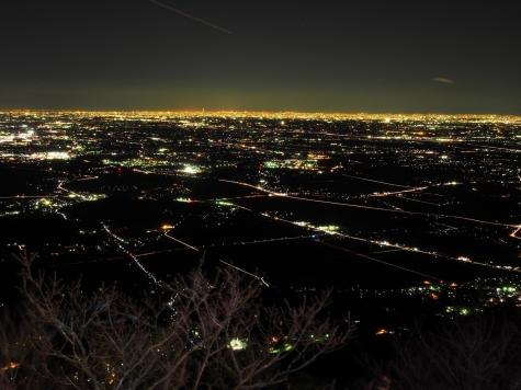 東京方向【筑波山からの夜景】