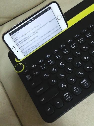 まさかの2,500円割れ  ダイヤルで3台のデバイスを切り替え可能なBluetoothキーボード K480 iOS/Android/Windows対応