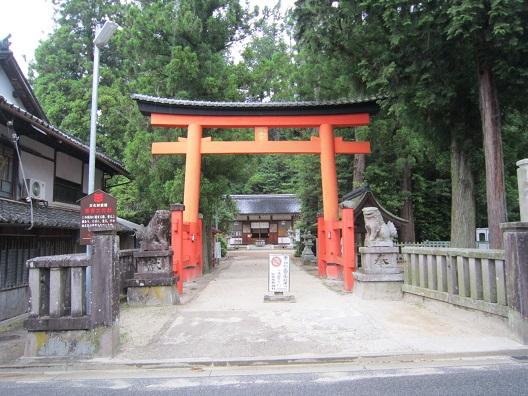 宇太水分神社