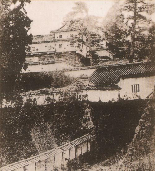 高取城古写真