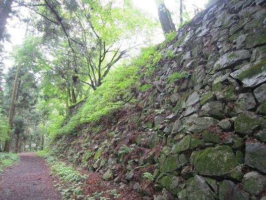 高取城二の丸石垣