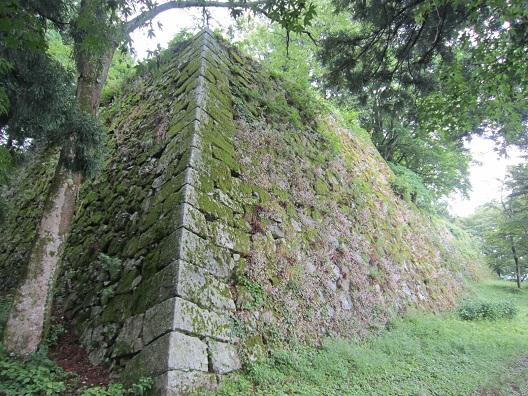 高取城天守台石垣