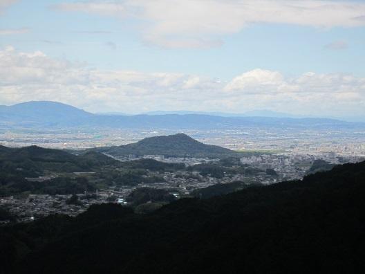 壺阪寺から奈良盆地を望む