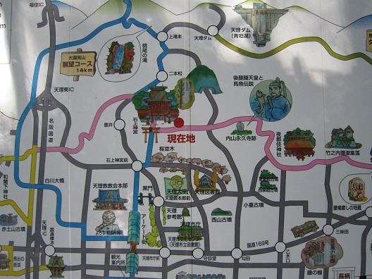 内山永久寺地図