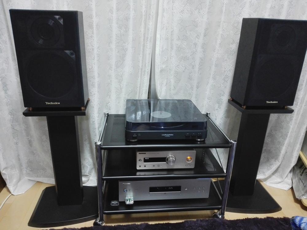 テクニクス 2WAYスピーカー SB-X55 良い音です