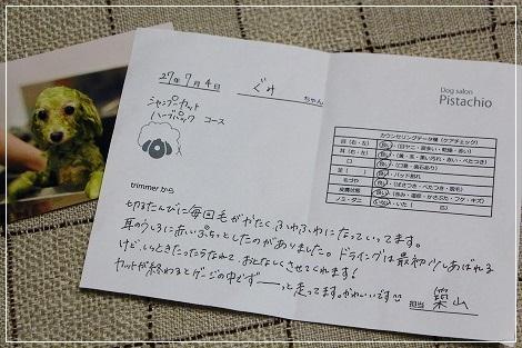 トリミングカルテ★