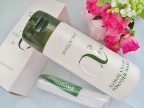 敏感肌でも使えるコスパのいい酵素洗顔【アルファピニ28 コーラルクリアパウダーウォッシュ】