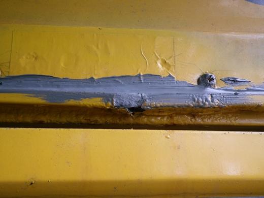 バス雨漏り修理 (3)