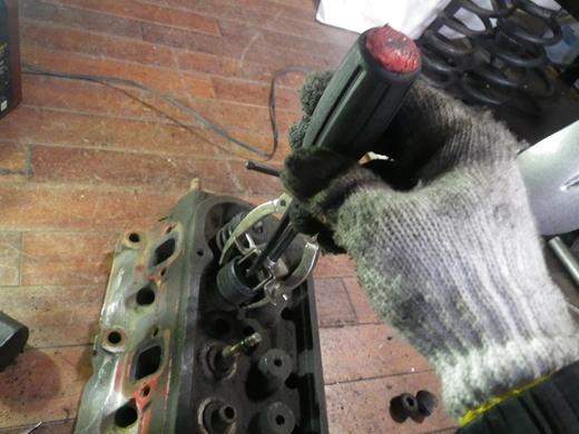 V8エンジンオイル下がり修理 (55)