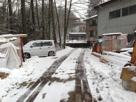 1度目の雪