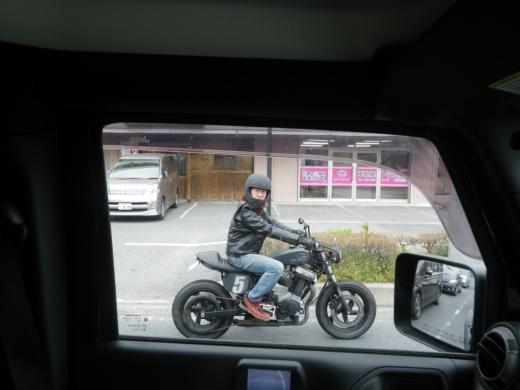 ビューエル初乗り (5)