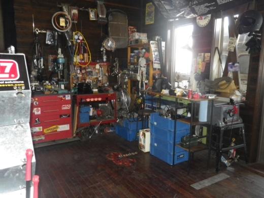 ガレージ整理出来た? (2)