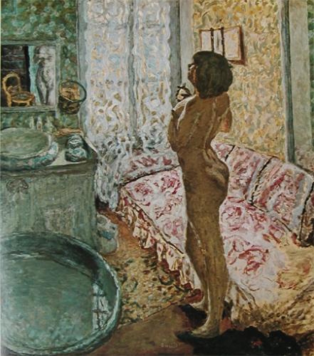 逆光の裸婦(1908年)