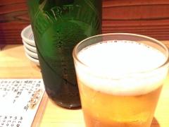 ゴーサイン食堂:ビール