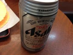 わなか:缶ビール