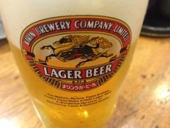 二升五合:ビール